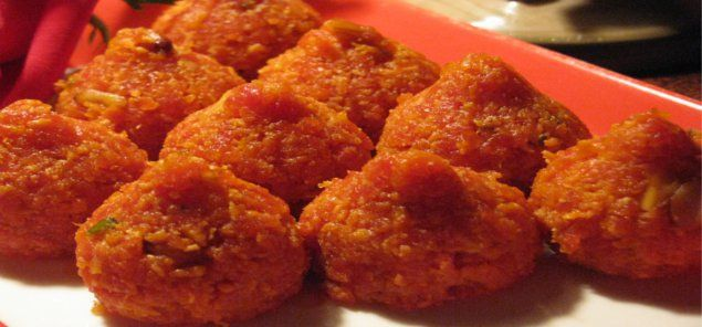 स्वादिष्ट गाजर के लड्डू