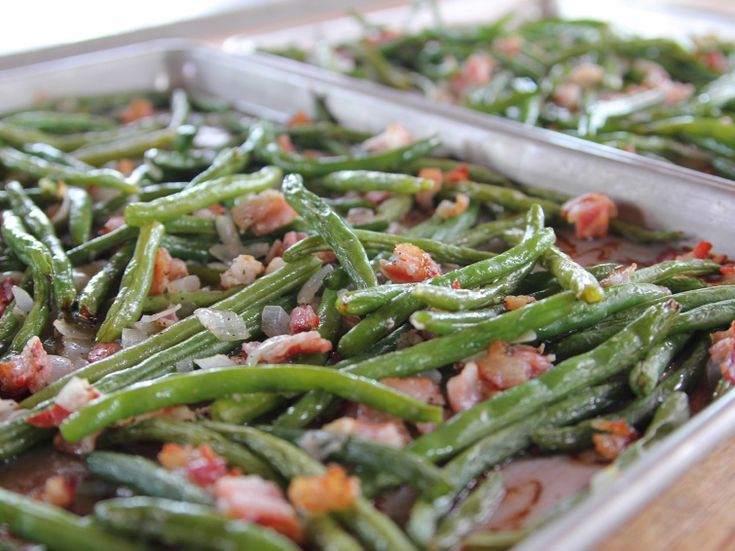 Roasted Green Beans Recipe : Ree Drummond : Food Network - FoodNetwork.com