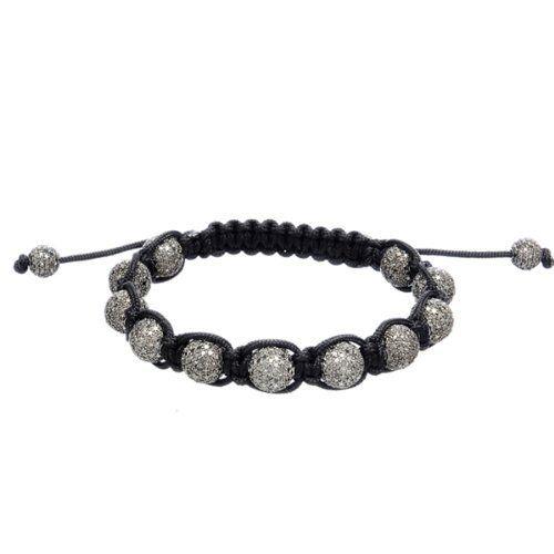 14kt Solid Gold Designer 13.17ct Diamond Macrame Crystal Beads Bracelet Socheec. $4076.00. 13.17ct Diamond Macrame Crystal Beads Bracelet. Designer Crystal Beads Bracelet. 14kt Solid Gold Beads Bracelet