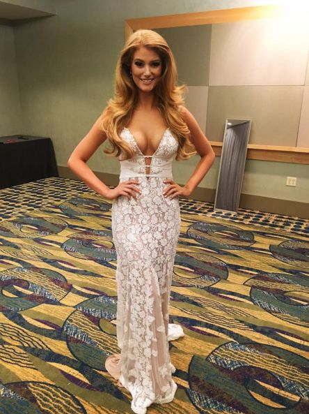 Miss Pennsylvania USA 2016 1st Runner-Up Evening Gown: HIT or MISS | Cassandra Angst is one of those contestants that has a natural radiance. She impressed the judges and placed 1st runner-up at Miss Pennsylvania USA!  Read more: http://thepageantplanet.com/miss-pennsylvania-usa-2016-1st-runner-up-evening-gown/