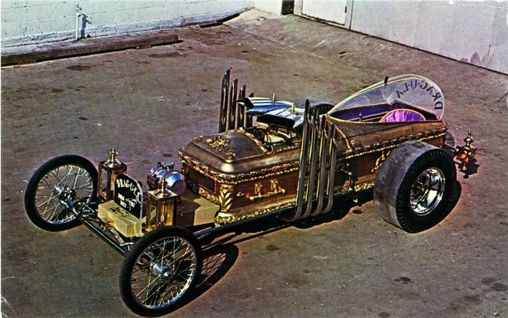 coffin car by george barris dragula custom show rods. Black Bedroom Furniture Sets. Home Design Ideas