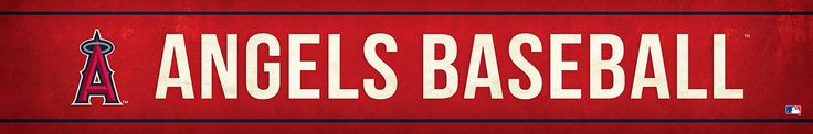 Los Angeles Angels Street Banner $19.99
