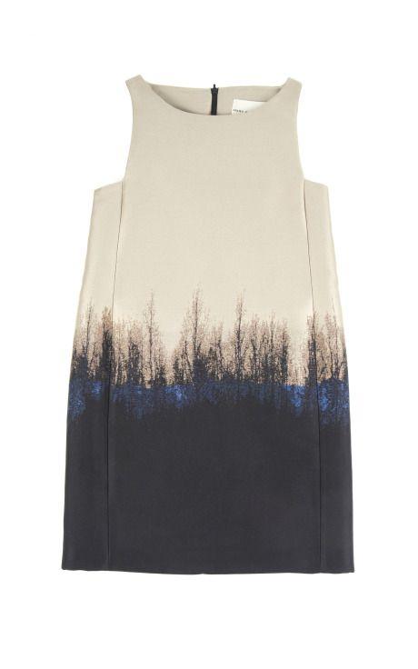 'Saga Trees Lupin Dress' (2013) by London-based Greek fashion designer Mary Katrantzou (b.1983). via moda operandi
