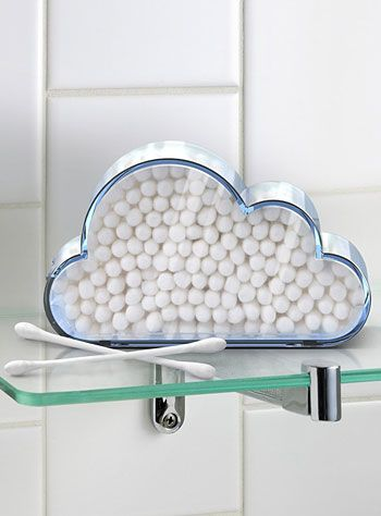 Clouds of Cotton Q-Tip Holder at PLASTICLAND