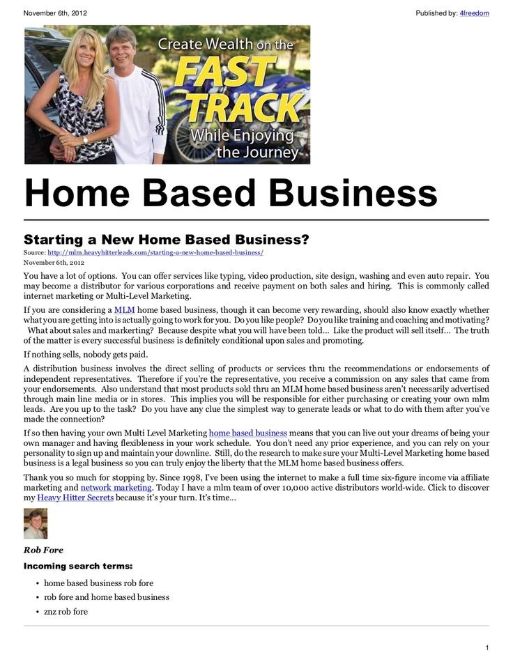 Online Home Business Ideas Great Blueprints To Start A Business Http