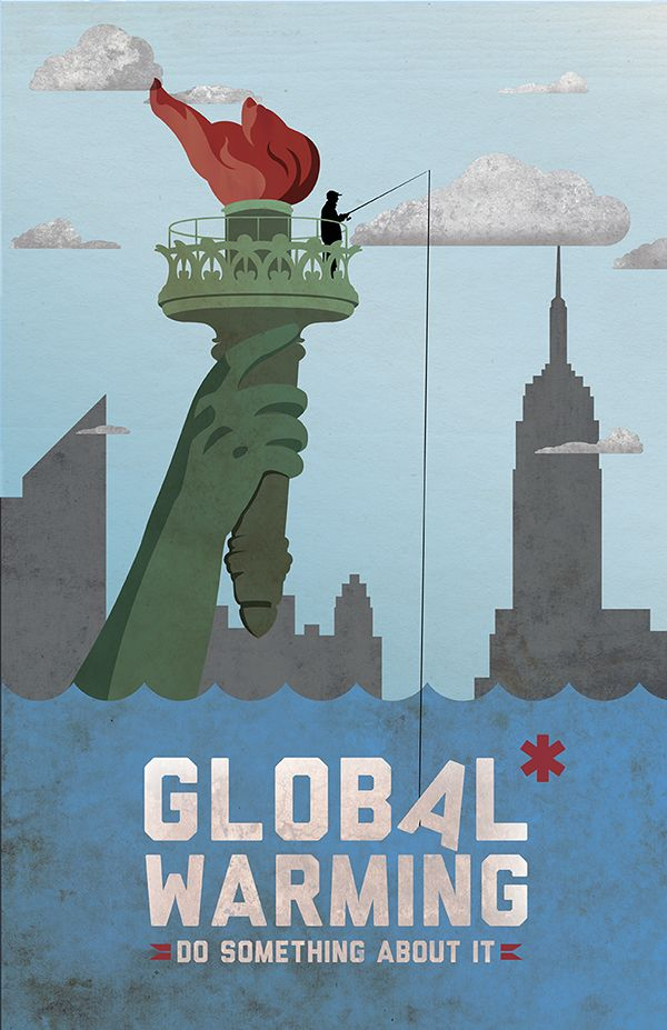 Tip Of The Week Tell People Global Warming Poster Awareness