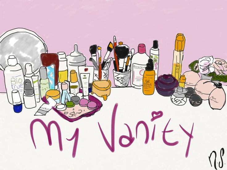 The place all women find their vanity within, sı what i have on my vanity desk? Check it out: http://exquismoi.wordpress.com/2014/07/10/13/