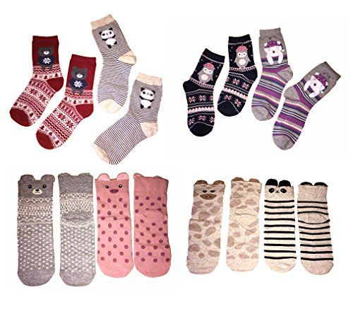 8 Pcs cute fashion cartoon women girls socks. Novelty, An... https://www.amazon.ca/dp/B01MS54TTB/ref=cm_sw_r_pi_dp_x_pFNGyb74TPA8T