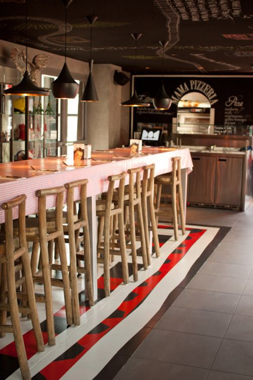 53 Best Images About Amazing Pizzeria Interiors On