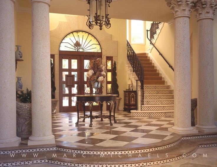 Mediterranean Foyer Decor : Best images about classic mediterranean homes on