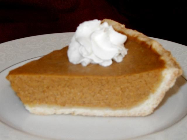 Oh I love me some pumpkin pie! Ma's recipe is always the best of course but this one looks pretty good too! Happy Pi day!