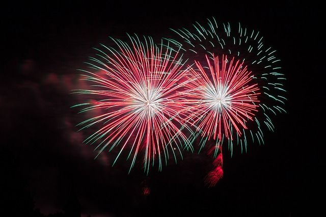 Kostenloses Foto: Feuerwerk, Silvester, Nacht - Kostenloses Bild auf Pixabay - 873398