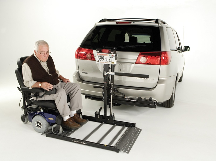 54 best bruno scooter and powerchair lifts images on pinterest for Motorized wheelchair lifts for cars
