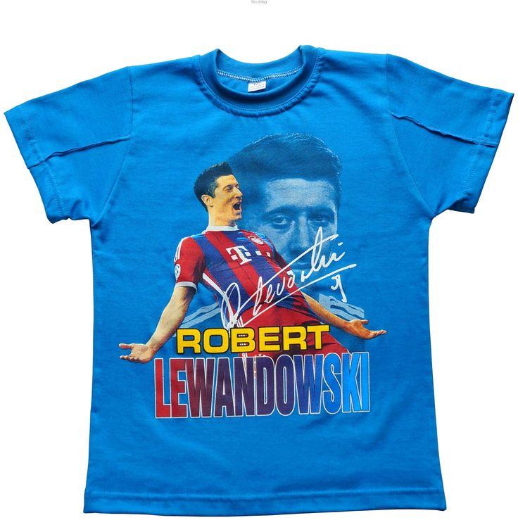 T-shirt Lewandowski b-chłopiec