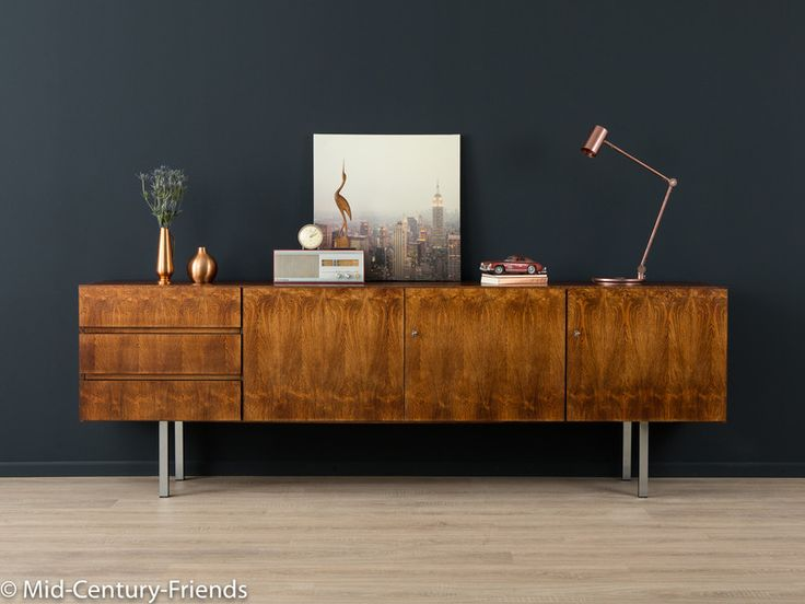 60er sideboard 50er kommode vintage von mid century friends auf mid century. Black Bedroom Furniture Sets. Home Design Ideas