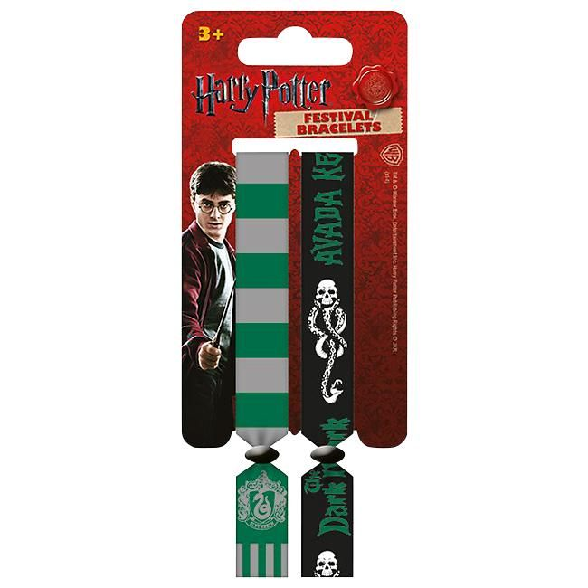 Harry Potter  Armband  »Slytherin - Festivalbandje« | Nu te koop bij Large | Meer Fan merch  Armbanden online beschikbaar - De beste prijs!