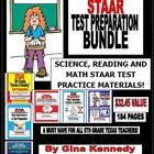 5TH GRADE TEXAS STAAR TEST PREPARATIONS BUNDLE! READING, MATH AND SCIENCE MATERIALS THAT ARE CHALLENGING AND 100% ALIGNED to the TEKS! $32.45 VALUE...