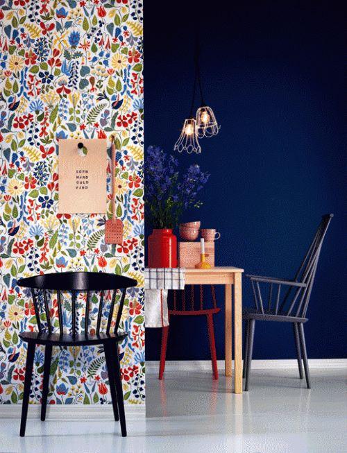 //Inspiration Déco// Un mur de papier peint