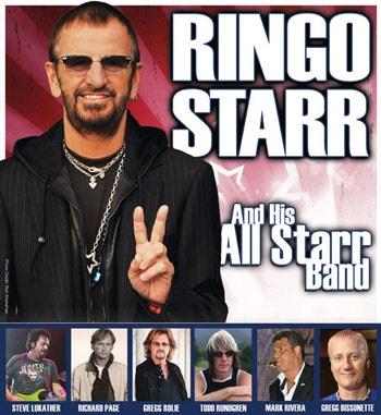 Set List: Ringo Starr & His All-Starr Band @ Avalon Ballroom Theatre, Niagara Falls, Canada