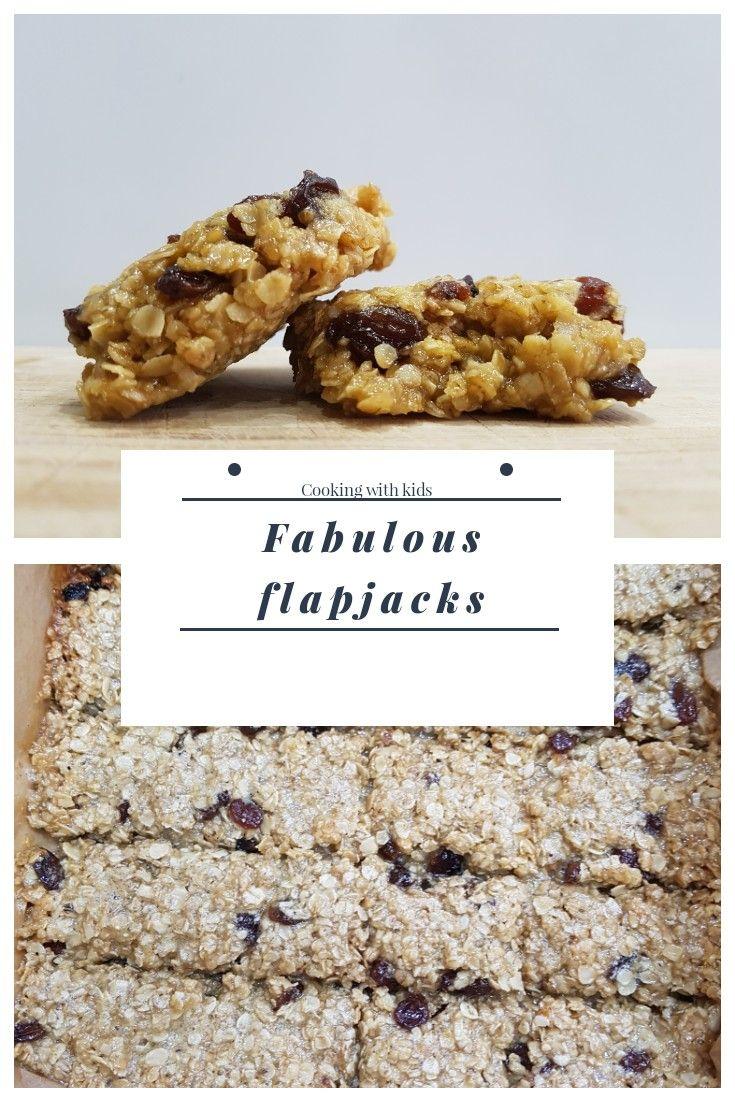 An easy, fruity flapjack recipe