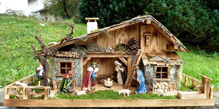 Weihnachtskrippe-Weihnachtskrippen-Krippenfiguren Assisi gross