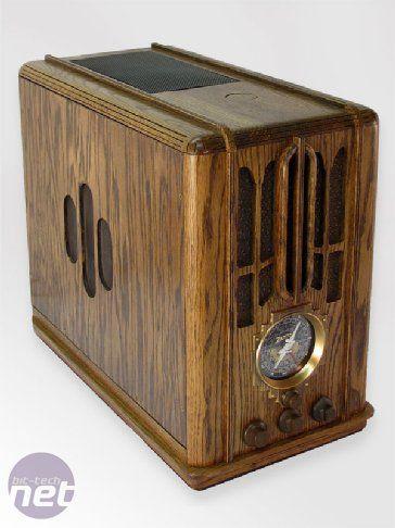 1930s Zenith 5-s-29 Radio Case Mod  Modder: Gary Voigt  bit-tech Project Log: Zenith Antique Radio Complete Case Build Log #steampunk