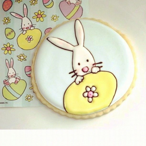 Easter cookie from Sweetopia