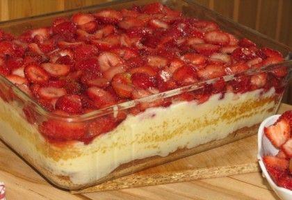 Epres-pudingos süti Brigitől | NOSALTY – receptek képekkel