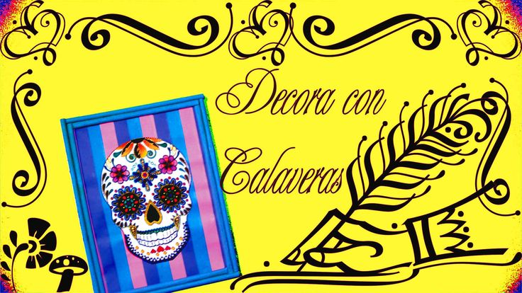 5.4.1 Holidays: Decora con Calaveras (DIY) {Estuche de Monerías} [Día de...