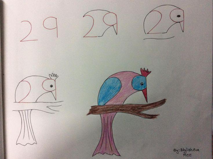 aprende a dibujar con numeros y letras 2