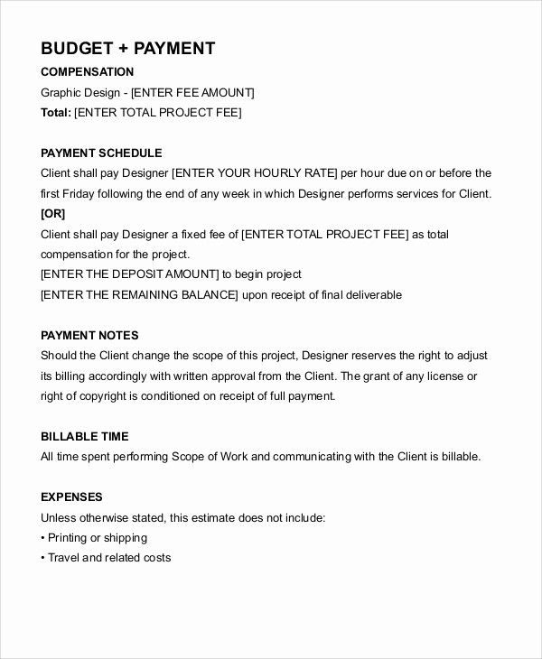 Freelance Graphic Design Contract Template Inspirational Freelance Contract Templates 7 Free Wo Freelance Graphic Design Freelance Contract Web Design Contract