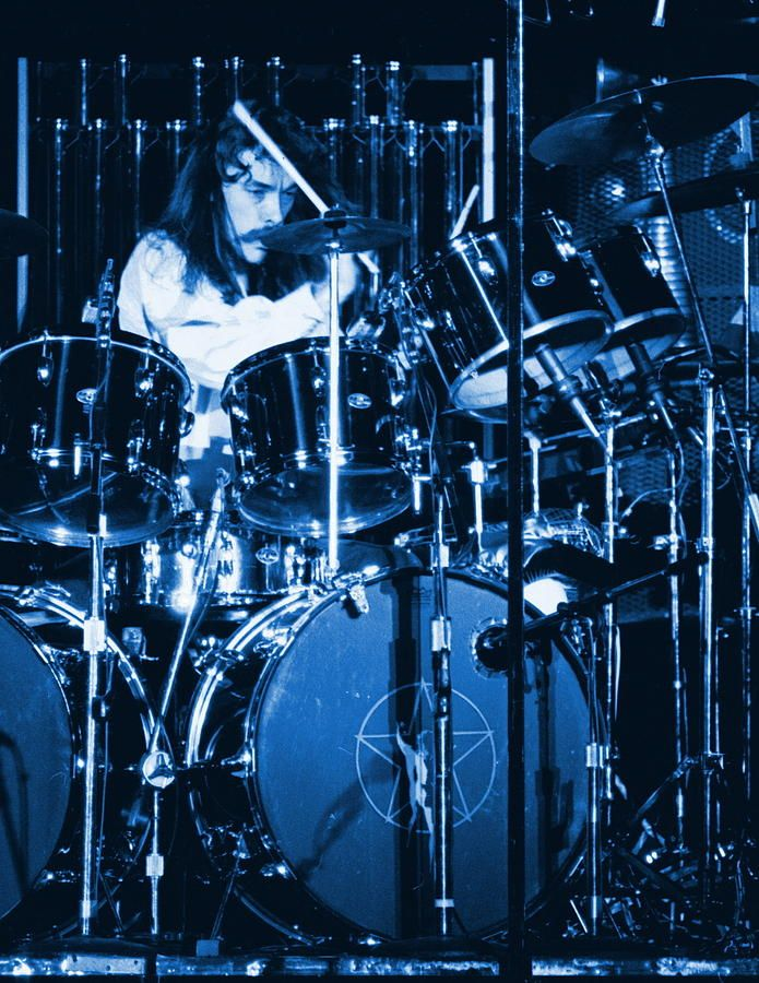 Neil Peart Drumming the Blues Away in Spokane 1978.