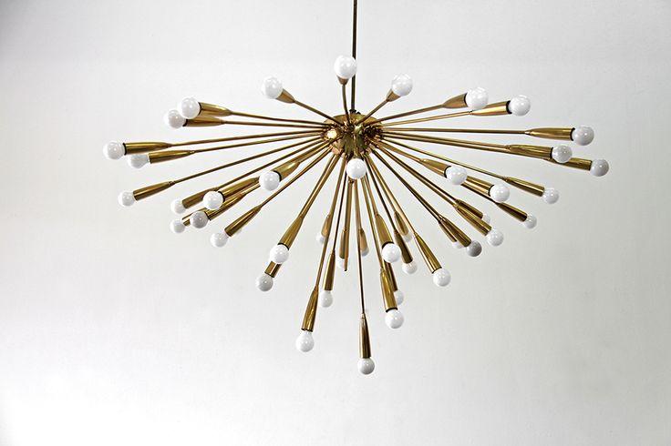 adore modern original sputnik kronleuchter von 1950. Black Bedroom Furniture Sets. Home Design Ideas