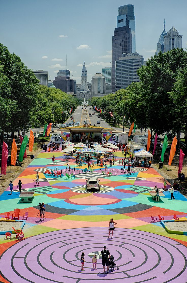 Check out 'The Oval' this #summer in #Philly - This pop-up park has it all: games, yoga classes, food trucks and more! #Philadelphia newagerealtygroup.com