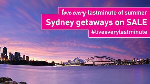 Click to make the most of Summer in Sydney.  SALE on now!