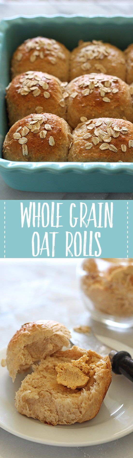 With these Whole Grain Oat Rolls, healthy bread doesn't have to taste bad! Anyone can make these surprisingly light, beautiful, and tasty dinner rolls.
