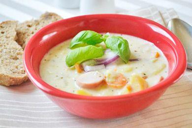 Kartoffel-Rahm Suppe