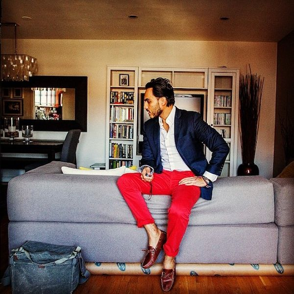 Every guy should now have a pair of red pants... stop trippin'