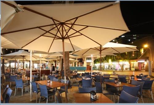 Watervue Restaurant offers modern Australian cuisine...