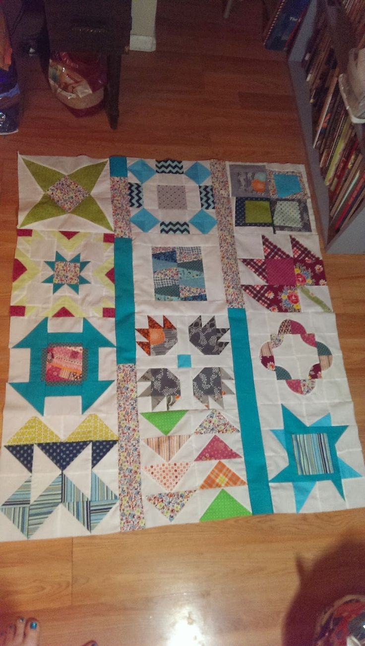 Classic Meets Modern, Sew at Home Mummy's BOM, needs quilting