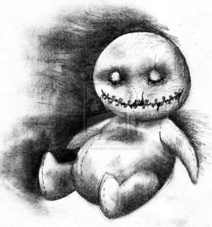 easy creepy pencil drawings - photo #8