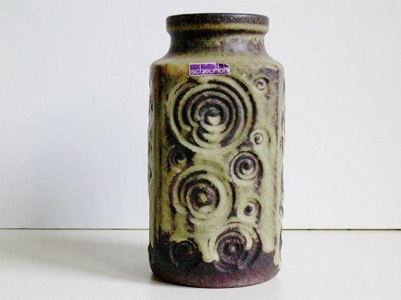 Mid Century Scheurich keramik ceramic Jura by vintage2remember, €43.00