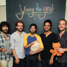 Young the Giant is an American alternative rock band that formed in Irvine, California, in 2004. The band's line-up is Sameer Gadhia, Jacob Tilley, Eric Cannata, Payam Doostzadeh, and François Comtois.