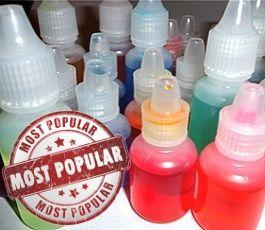 A few of the most popular and creative e-juice flavors: http://www.cigbuyer.com/most-popular-complex-e-juice-flavors/