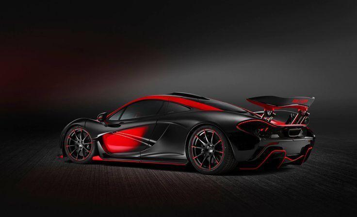 Red And Black Mclaren P1 Gtr Is A 4 Million Road Legal Racer Carscoops Mclaren P1 Mclaren Cars Gtr