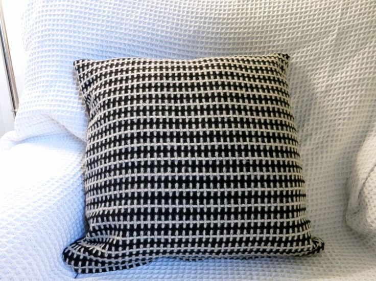 Reduced!!! So 1960s, gorgeous, retro, black and white, hand made tweed cushion cover in high quality wool. by WhatGoesAroundStore on Etsy https://www.etsy.com/listing/203593565/reduced-so-1960s-gorgeous-retro-black