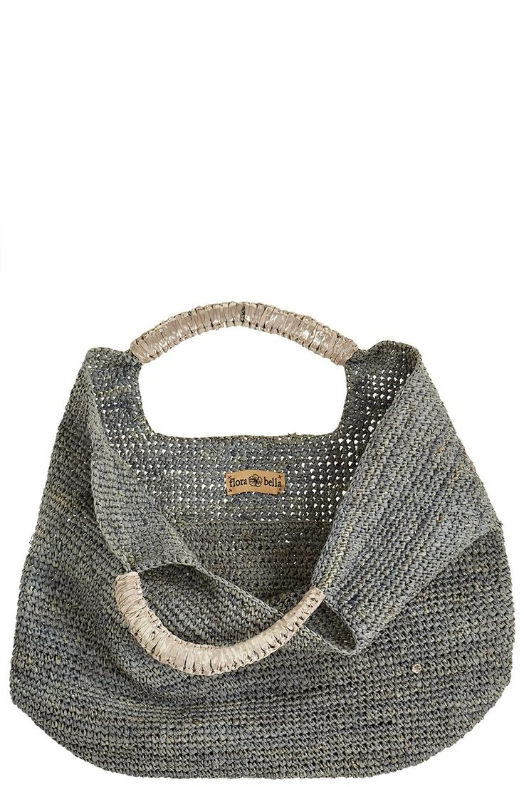 sac au crochet / gris anthracite ...