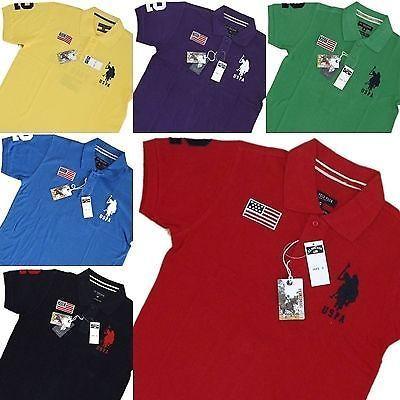 US Polo Assn. - Mens Polo Shirts | eBay