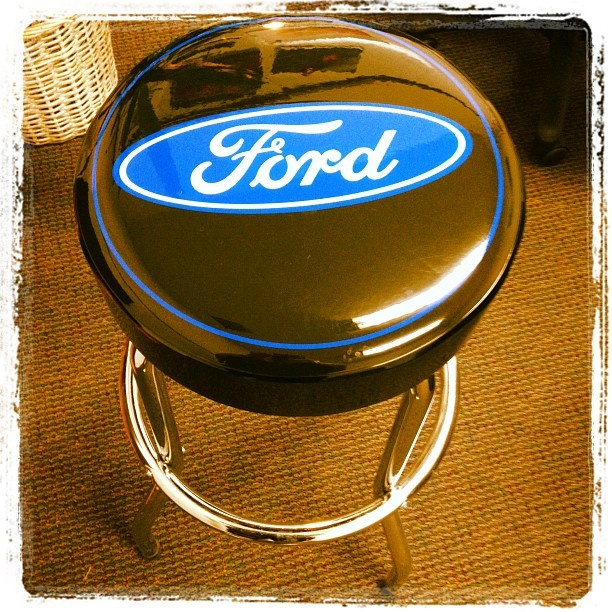 Ultimate garage dreams are made of this Ford Garage Stool -$39.95 / & The 25+ best Garage stools ideas on Pinterest | Stool makeover My ... islam-shia.org