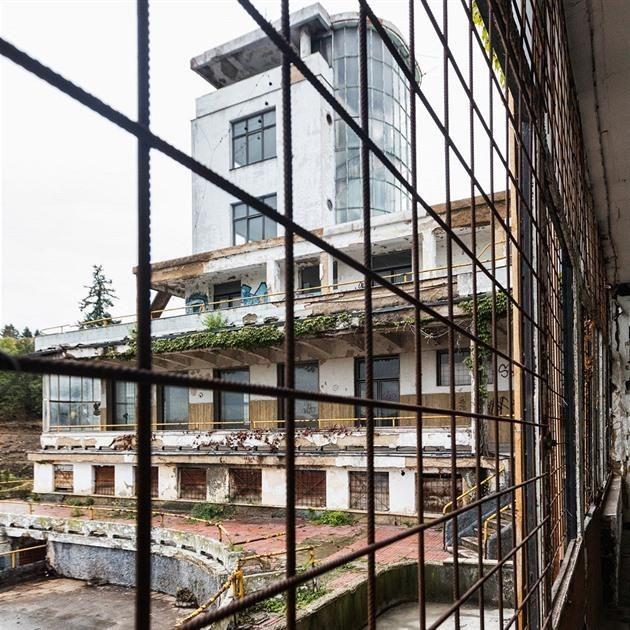 Rekonstrukce Barrandovských teras začala vznikne restaurace i hotel - iDNES.cz